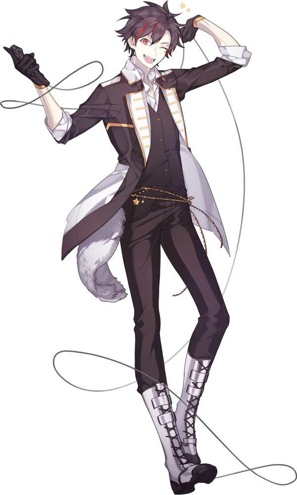 Anime Character 2d : Ingesloten afbeelding trai d pinterest anime