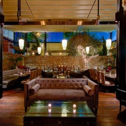 Sadie Kitchen and Lounge in Los Angeles - Vintage Art Deco charm. With its Prohibition-style bar and elegant restaurant, its perfect for a low-key date.