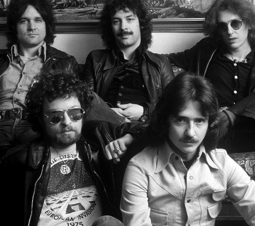 "BLUE OYSTER CULT .   Don ""Buck Dharma""  Roesner .... Eric Bloom ... Alan Lanier .... Joe Bouchard ...   .Al Bouchard .... .from Long Island. New York"