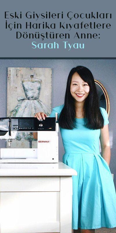Die Mutter, die alte Kleider für ihre Kinder in großartige Kleider verwandelt: Sarah Tyau