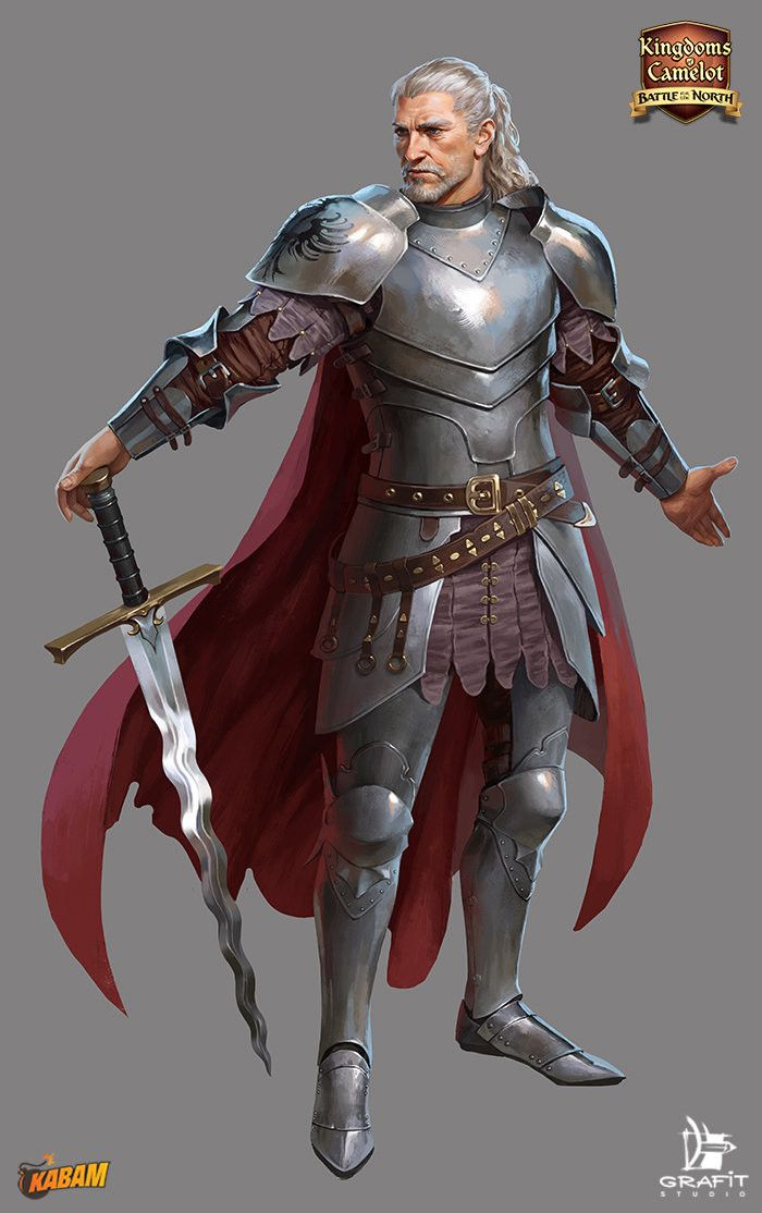 Characters for Kingdoms of Camelot (Kabam).