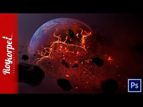 Dead Planet | Photoshop CS6 how to time lapse video (with wallpaper)