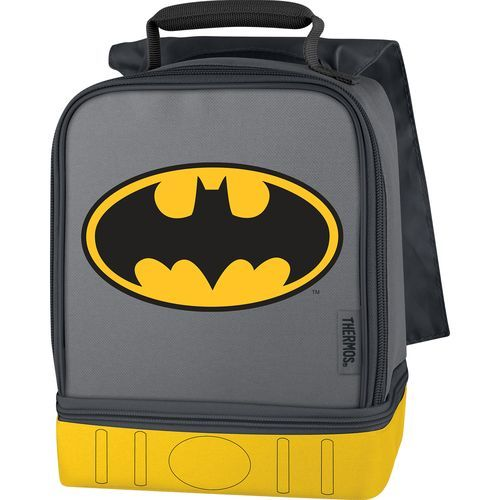 Thermos® Kids' Batman Dual Compartment Lunch Kit With Cape Black - Personal Coolers-Soft/Hard at Academy Sports