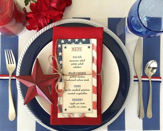 13 Americana Wedding Details for Labor Day via Brit + Co