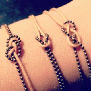 Concours CSF – Bracelets nœuds marins et chinois - Marie Claire Idées