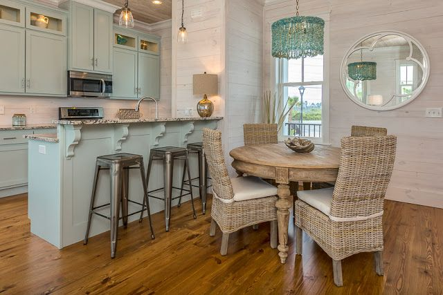 Susie Harris: Gulf Coastal Cottage rental #blue Cabinets