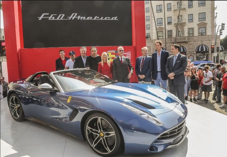 The 2018 Ferrari F60 America, which will most definitely be developed distinctive customers in addition to merely 10. This special Ferrari layout is based