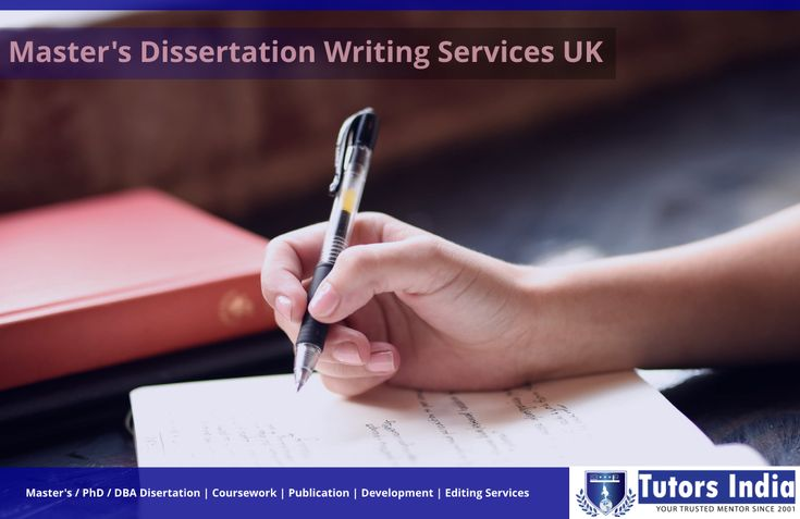 Help with masters dissertation