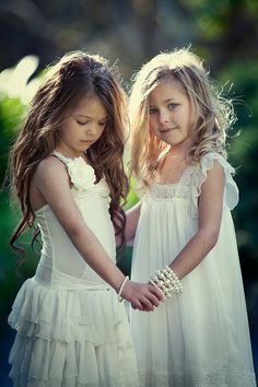 little girls brunette and blonde - Google Search