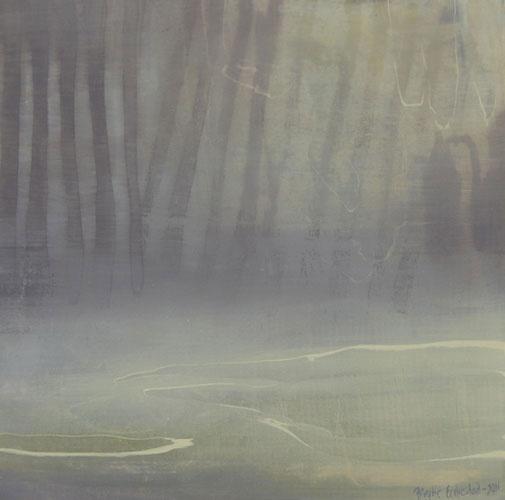 birgitte endrestad Maleri nr.2 Akryl på lerret