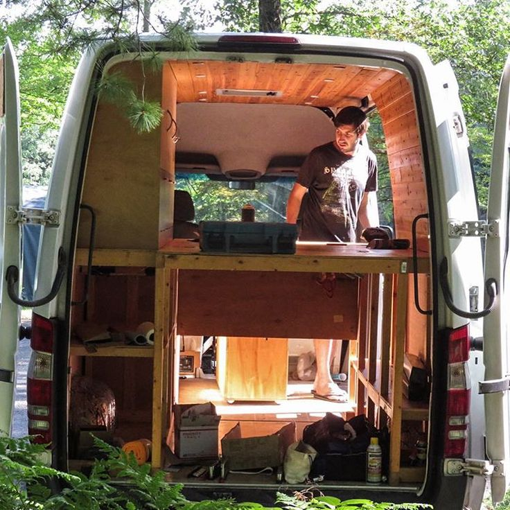 Home Design Ideas Construction: After A Couple Of Days Working On The Van, It Looks Like