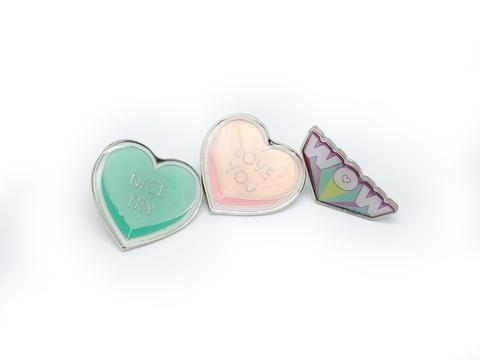 Heart Design Cute Pins #9