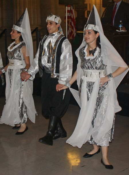 Ajyal Lebanese Dancers at Cleveland City Hall