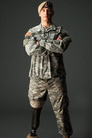 Living leg-end Meet the first man in Army history who returned to combat after an amputation
