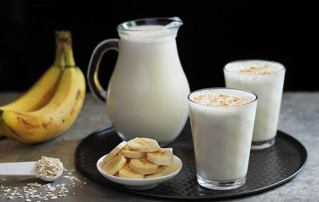 how to make a basic banana smoothie