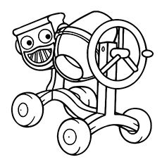 Free Printable Bob The Builder Coloring Pages Online