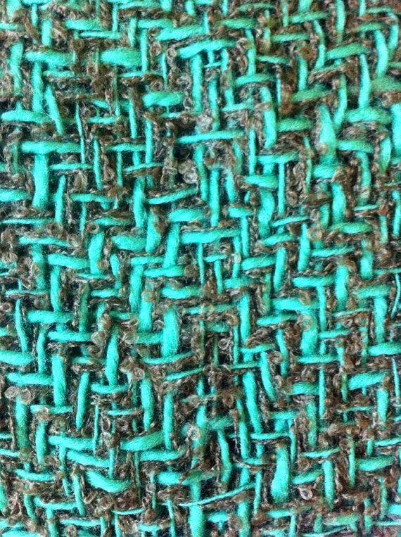 CHAL Pañuelo SHAWL Bufanda cuello hecho a mano en telar