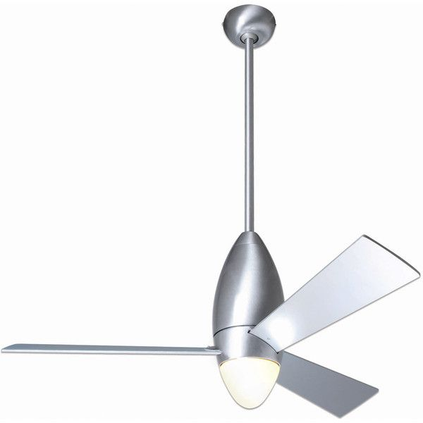 Modern Fan Company DC Slim Ceiling Fan ($495) ❤ liked on Polyvore featuring home, home decor, fans, modern fan, modern ceiling fans, mod home decor, modern home accessories and modern home decor