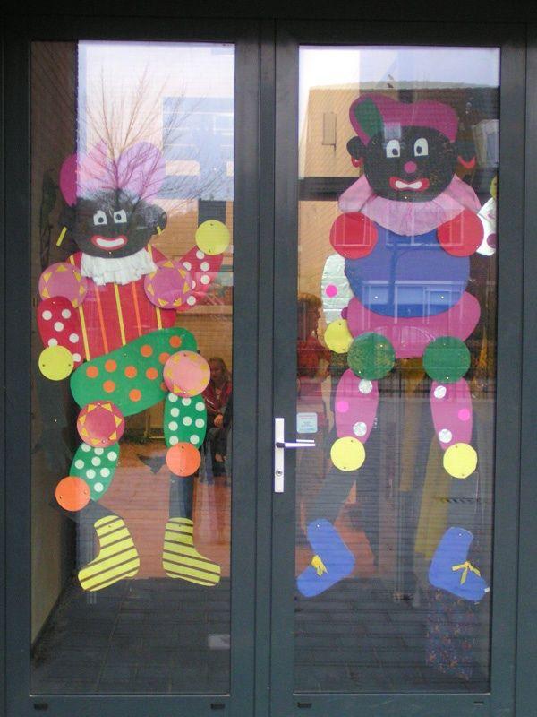 * Zwarte Pieten, samen maken leuke decoratie!