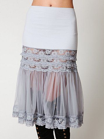 a slip for layering. (in 15 sizes too small for me -- but maybe make my own?)