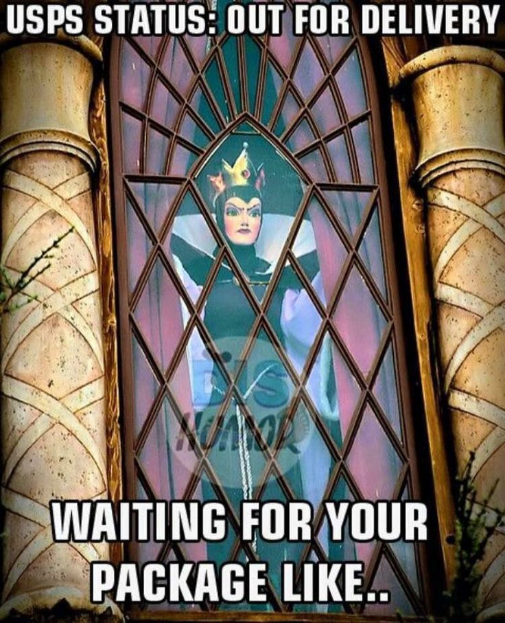 Waiting for your package like...   Disney meme evil queen