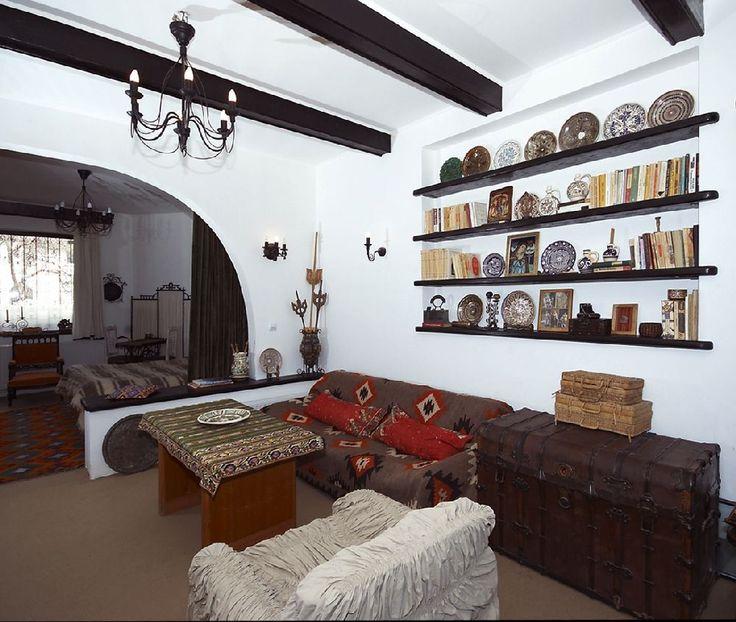 adelaparvu.com despre Anca Ciuciulin si casa ei cu decor traditional romanesc (9)