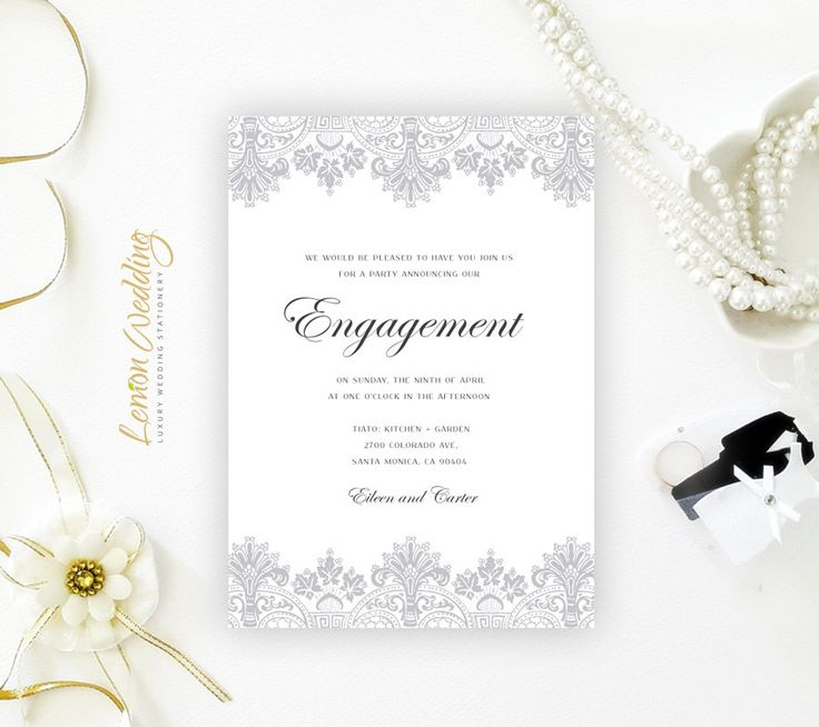 9 best Engagement Invitations images on Pinterest | Engagement party ...