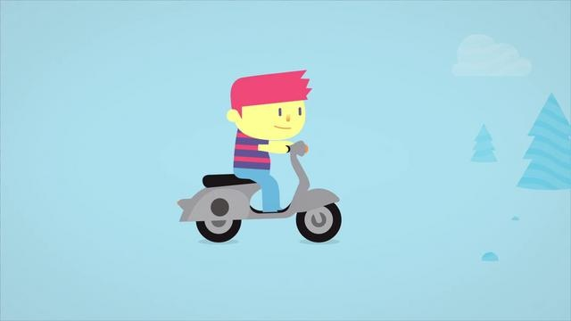 People Rooms by Juan Casal.   Cute 2D animation & great work!