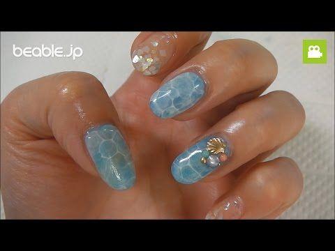 [初心者〜プロ]ドロップネイル作り方 ジェルネイルの技法大公開 dorop nail art tutorial - YouTube