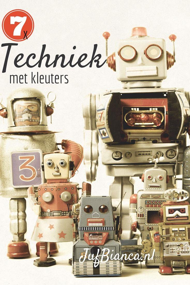 7 x techniek met kleuters - jufBianca.nl