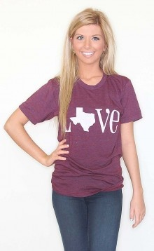 Cute site... Everything from tees to pillows to represent your state!