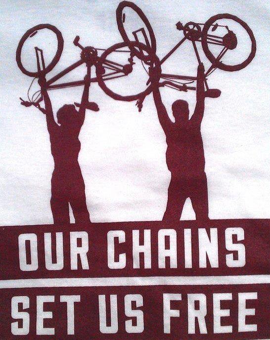 Be free...ride a bike!