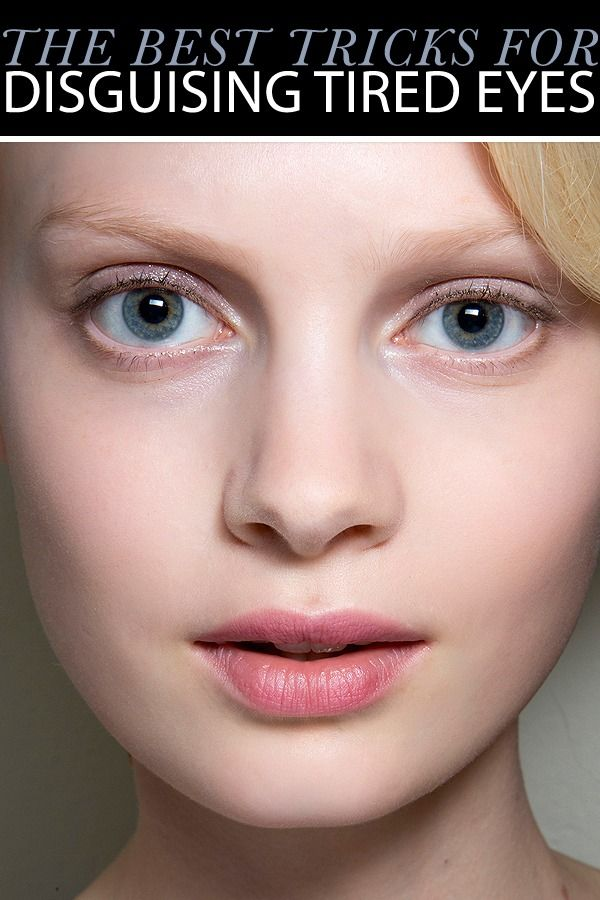 5 Makeup Tricks to Disguise Tired Eyes