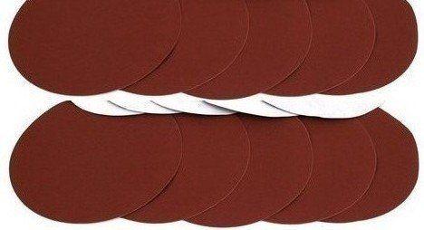 """ALEKO® 100 Pieces 180 Grit Sanding Discs Sander Paper for Drywall Sander. 100 Pieces 180 Grit Sanding Discs Sander Paper for Drywall Sander. Diameter: 8-7/8"""". Fits most of the drywall sanders. Other grit sanding discs are also available for sale."""