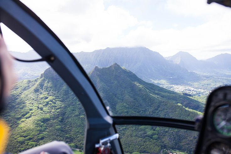 Hawaii From the Sky: Oahu Island Helicopter Tour
