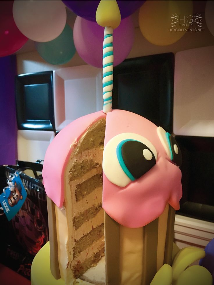 Five Nights At Freddy's Pretty Birthday Party    CatchMyParty.com