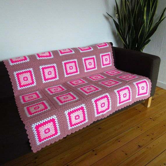 This pretty pink throw blanket would make a lovely gift for someone special