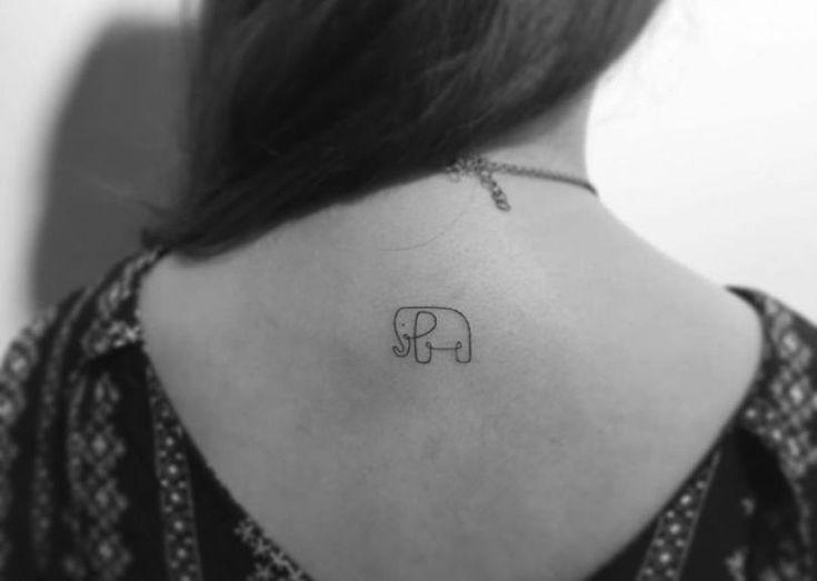 Des tatouages minimalistes et mignons, pour les frileux de l'aiguille