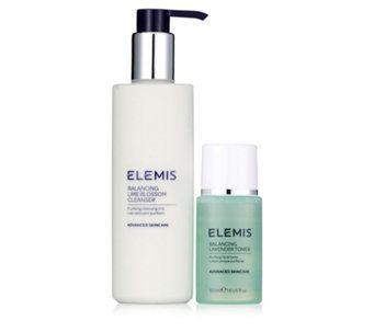 Elemis Cleanser & Toner Set - 225131