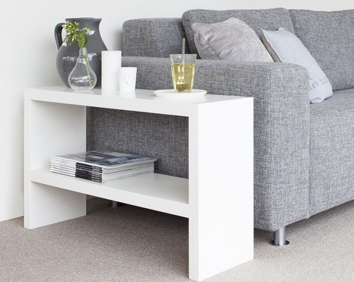 25 best ideas about side table decor on pinterest side for Petite table de salon ikea