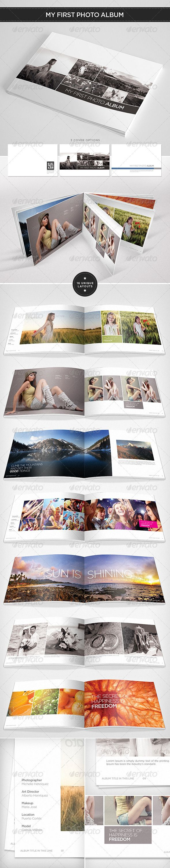 My First Photo Album - GraphicRiver Item for Sale