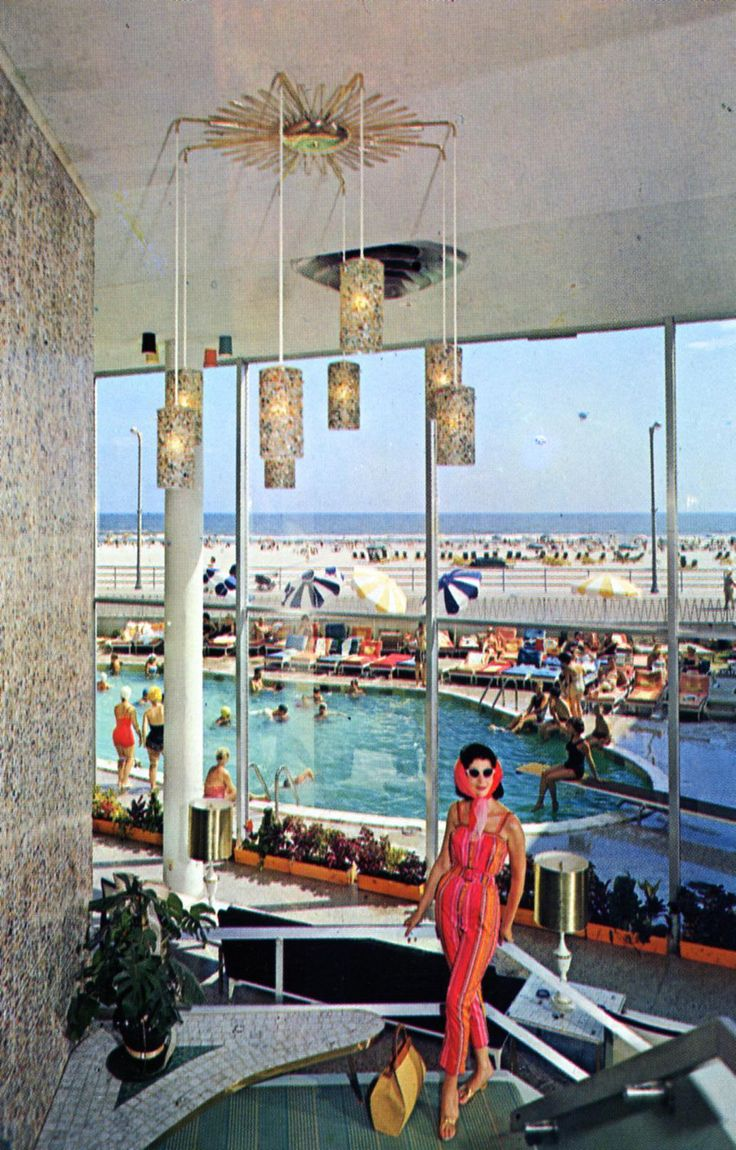 Modern homes los angeles brentwood untouched 1960 mid century modern - La Concha Hotel Motel Atlantic City New Jersey Find This Pin And More On Mad About Mid Century Modern