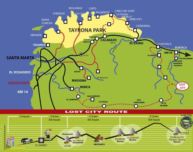 rutas de viaje colombia ecologicas - Buscar con Google