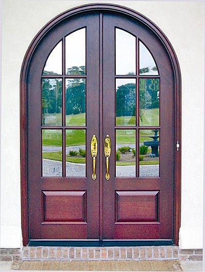 Country French Exterior Wood Entry Door Style Dbyd 2003