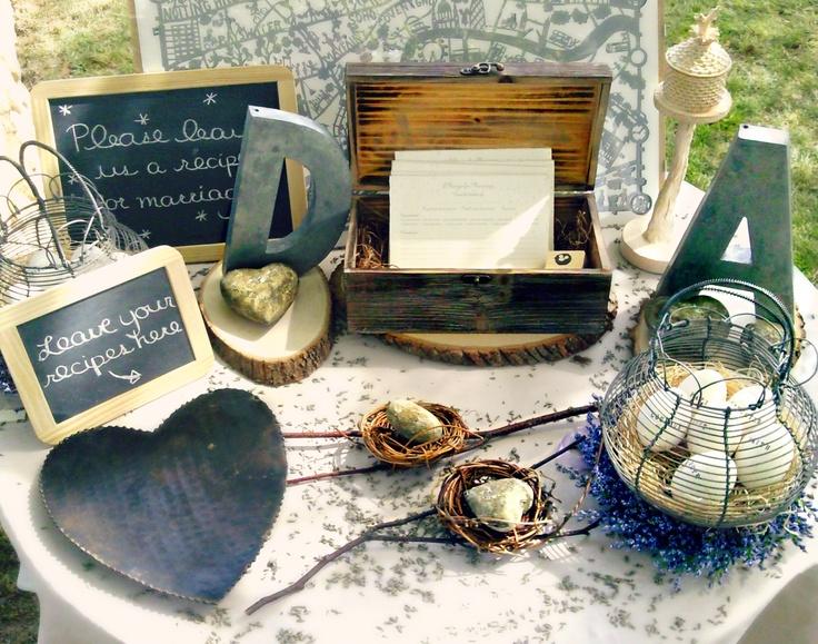 La Bastide de Marie, Ménerbes // Ideas box : a recipe for marriage...