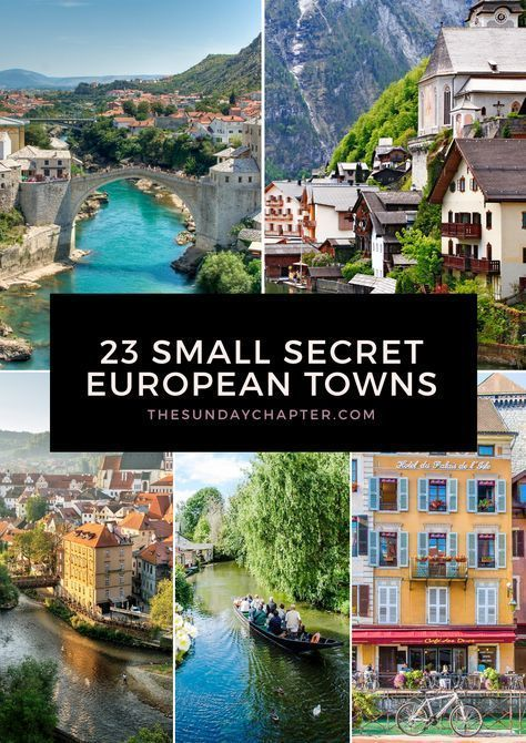 23 Small Secret European Towns You Must Visit