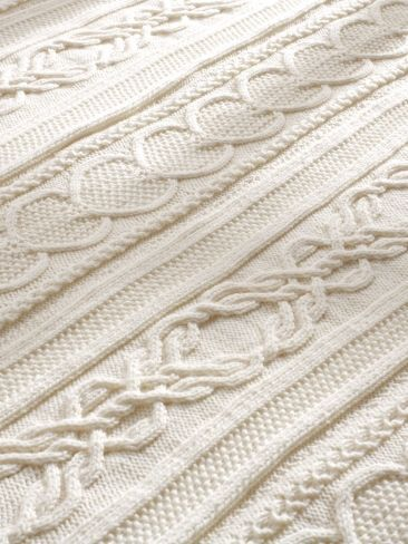 Gift of Love Cable Afghan | Yarn | Free Knitting Patterns | Crochet Patterns | Yarnspirations
