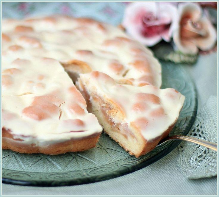"""Невероятно вкусный пирог """"Яблоки в сметане""""!"""