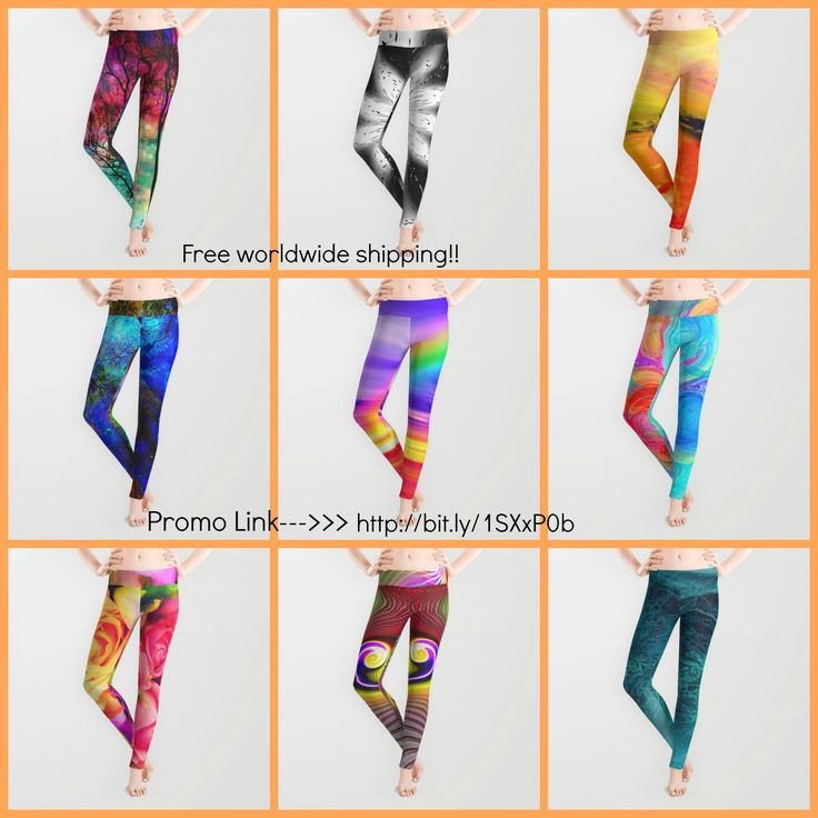 Free Worldwide shipping in my society6 shop!! Promo link-->> http://bit.ly/1SXxP0b  Promotion expires June 7, 2015 at Midnight Pacific Time. *Free Shipping offer excludes Framed Art Prints, Stretched Canvases, Wall Clocks and Rugs  #leggings #fashion #pants #colorful #floral #abstract #fantasy #yoga pants #yoga