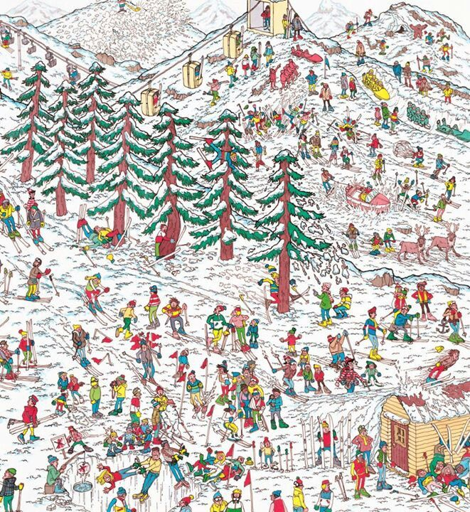 Where's Wally - Martin Handford